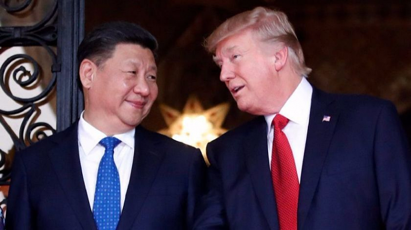 "Despite early indications that President Trump considered President Xi a great ""friend"", the U.S. leader's policies have remained tough on China throughout his presidency. [Photo Credit: The Los Angeles Times]"
