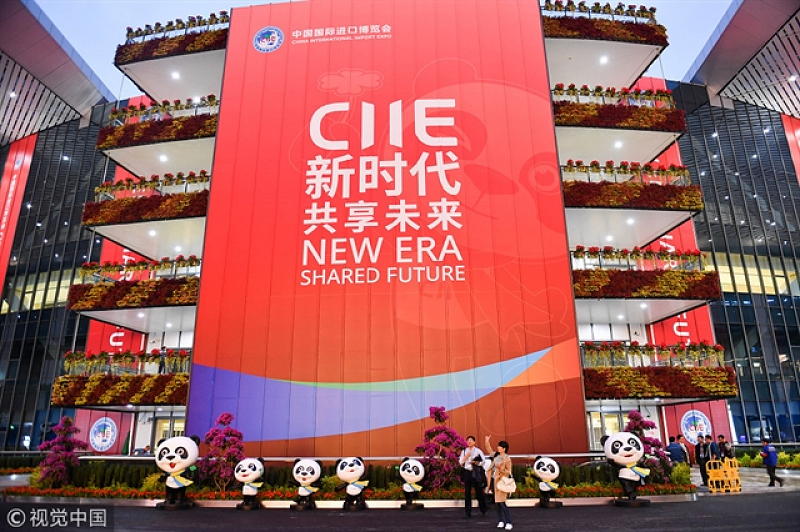 China International Import Expo Spends Second Year In Shanghai. [ Photo credit: Vietnam News]