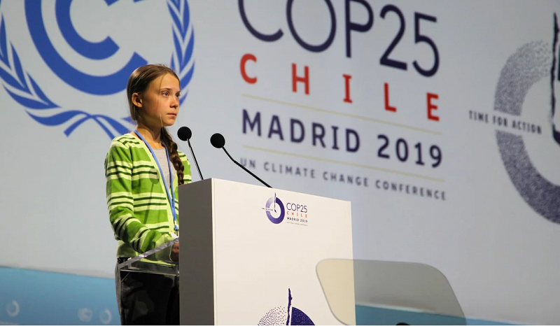 Officials and activists alike called for action at 2019's COP25. [Photo credit: France24]