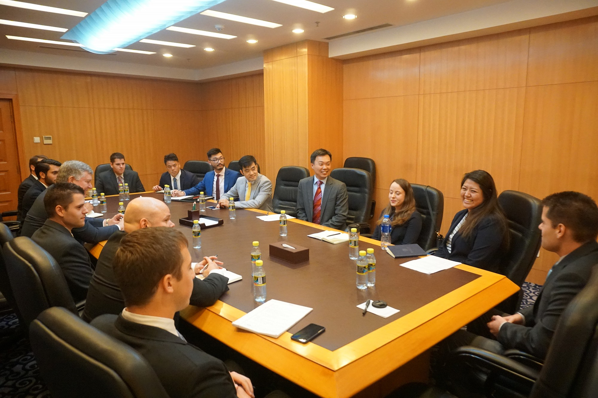 Meeting with Mr. Wang Tong, Deputy Director, Fifth Division, Department of American and Oceanian Affairs Ministry of Foreign Affairs