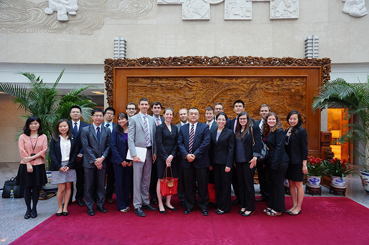 Harvard student delegation visited the Ministry of Foreign Affairs